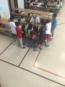 International Master Emory Tate managed to greatly improve the chess skills of every child advanced group.