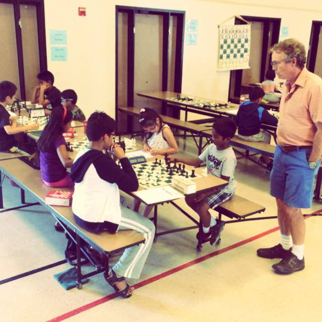 Joe Lonsdale is a legendary chess coach who brings decades of teaching experience to our camp daily.