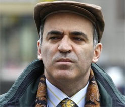 "Garry Kasparov is ""excited to watch this rematch of generations."""