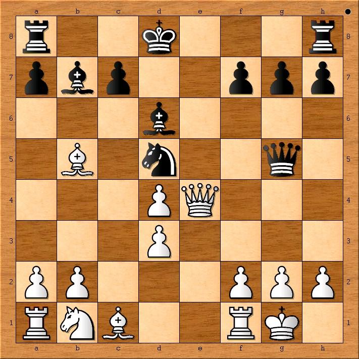Position after 13. d3.