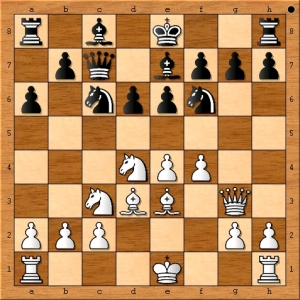 In the entire recorded history of chess, this move has only been played once previously in a nice win for white.