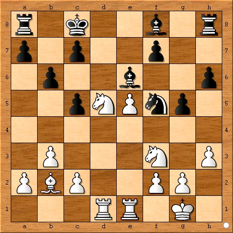 Position after Viswanathan Anand played 15... g5.