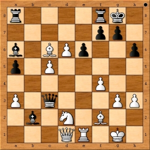 Position after 34. Bxc6