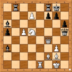 Position after 42... Bxa3