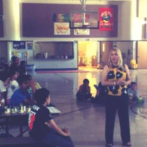 Everyone in attendance will never forget the day Susan Polgar showed them patterns in attacking a castled king.