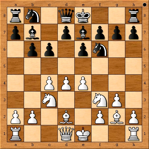 The move after Viswanathan Anand plays 8. e4.