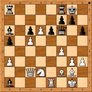 Position after 32. d6